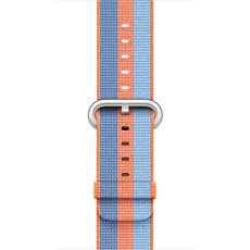 Bracelet en nylon tissé orange 42 mm