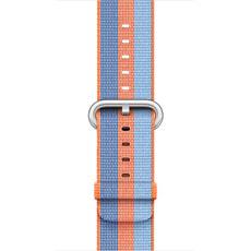 42 mm gewebtes Nylon, Orange