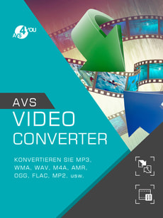 AVS Video Converter incl. Activation-Key PC