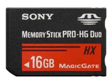 MS PRO Duo High Grade HX 16GB Memorystick