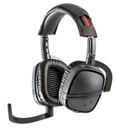 Striker P1 Pro Gaming Headset nero/rosso