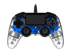 Gaming PS4 Controller Light Edition blue