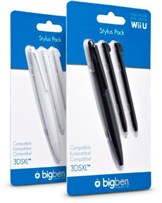 Stylus Pack - black/white assorted