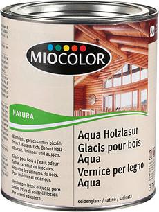 Vernice per legno Aqua Grigio Argento 750 ml