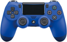 PS4 Wireless DualShock Controller v2 blau