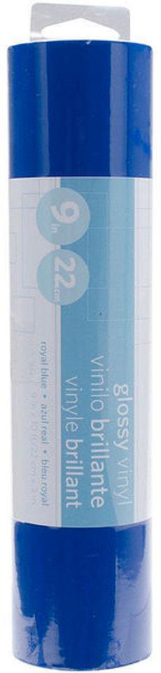 Vinylfolie 23 cm x 300 cm, Glossy Blau
