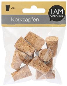 Korkzapfen, 2 x 1.4 x 3 cm, 10 Stk.