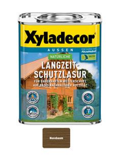 natürliche Langzeitschutzlasur Nussbaum 750 ml