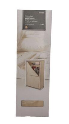 Kleiderschrank Beige 100x170x50cm