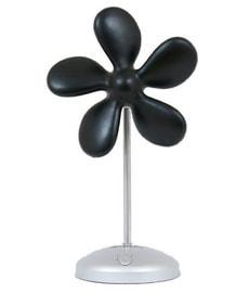 Flower Fan schwarz