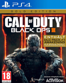 PS4 - Call of Duty: Black Ops III Gold (D)