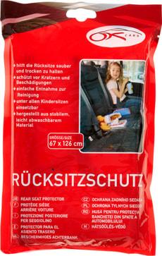 Protège siège arrière voiture