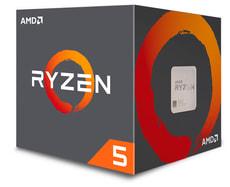Ryzen 5 1600X 6x 3.6 GHz AM4 boxed, sans ventilateur processeur