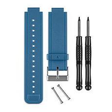 Vivoactive Bracciale di silicone blu