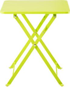 Klapptisch CANCUN, hellgrün, 40 cm