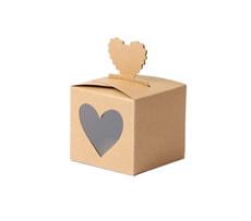 Papierboxen Herz