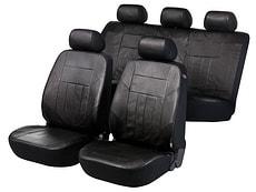 Sitzbezug Nappa schwarz