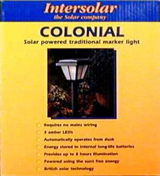COLONIAL LIGHT
