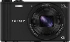 DSC-WX350 Cybershot Kompaktkamera schwarz