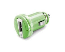 Allume-cigare 12/24V avec USB, vert