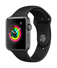 Watch Series 3 GPS 42mm spacegray/black