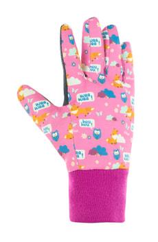 FOXY gant de jardin enfant rose