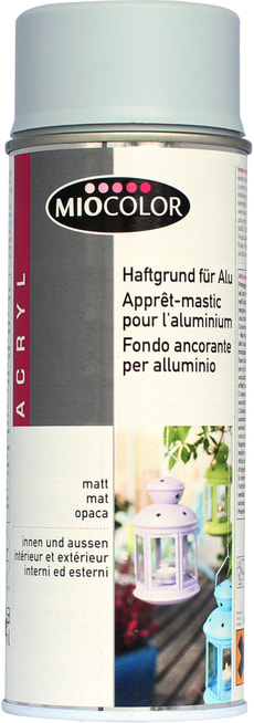 Apprêt de base en spray pour surfaces en aluminium