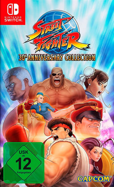 Switch - Street Fighter 30th Anniversary Collection