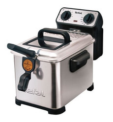 Tefal Fritteuse Filtra silber