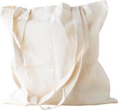 Sac coton, nature, 38x42cm