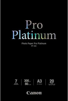 Pro Platinum Photo Paper A3 PT-101
