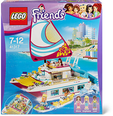 Lego Friends Sonnenschein-Katamaran 41317