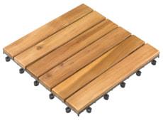 Dalles en bois acacia