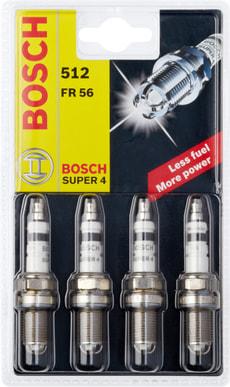 Super 4 Zündkerze 512 FR 56