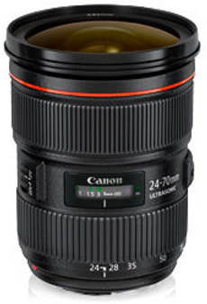 EF 24-70mm f/2.8L USM II Objectif