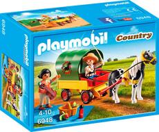 PLAYMOBIL Country Voyage en calèche 6948