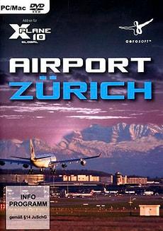 PC/Mac - Airport Zürich für X-Plane 10 (Add-On)