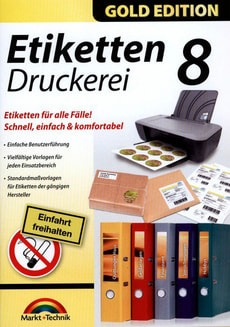 PC Gold Edition: Etiketten Druckerei 8
