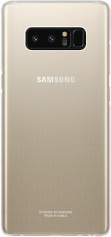Clear Cover Note 8 transparent