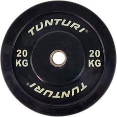 TUNTURI Hantelscheiben 50mm 20 kg Einzel