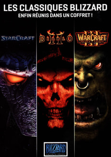 PC - Coffret Blizzard : Diablo 2+Starcraft+Warcraft 3+les extensions