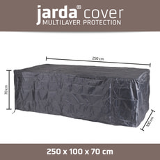 Housse de protection rectangulaire 250x100xH70