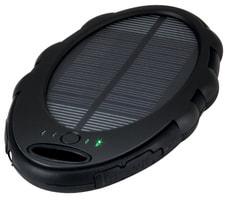 SunPower Solar Power Bank mit LED-Taschenlampe