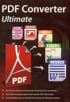 PC - PDF Converter Ultimate - Inklusive OCR-Technologie (D)