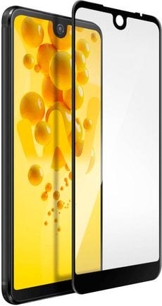 View 2 Pro Display-Schutzglas Printed Black Frame transparent