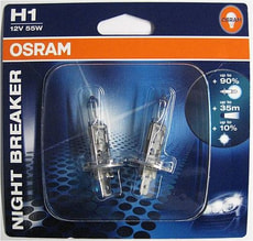 OSRAM H1 NIGHT BREAKER 12V 55W