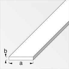 Barre plate 6 x 35 mm acier laminé 1 m
