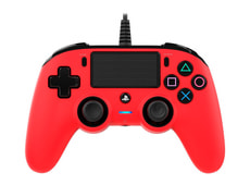 Gaming PS4 Controller Color Edition red