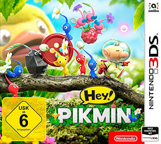Hey! PIKMIN 3DS (D)