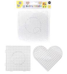 Stiftplatten XL Herz, Quadrat